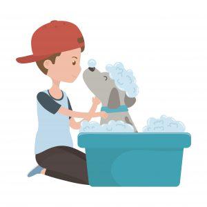 garder son chien propre